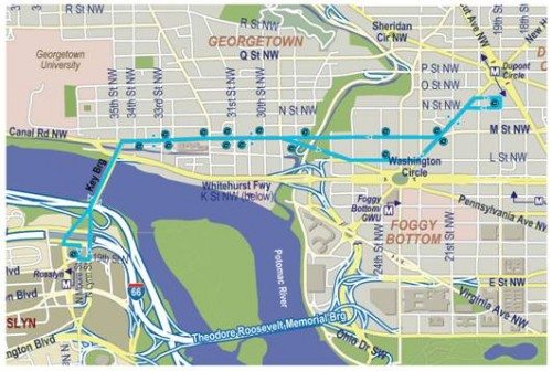 PoPville » New Circulator Bus Route Dupont – Georgetown