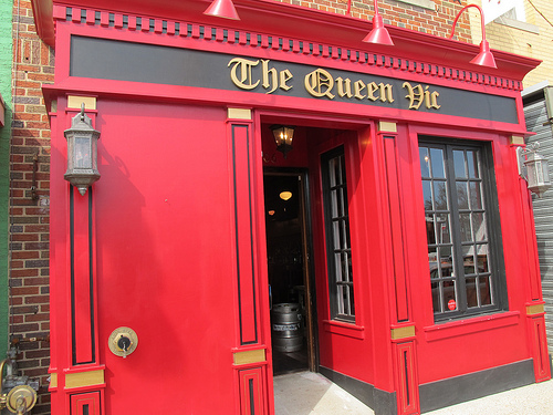 Queen Vic Opening Thurs With A Limited Menu On H St Ne Popville