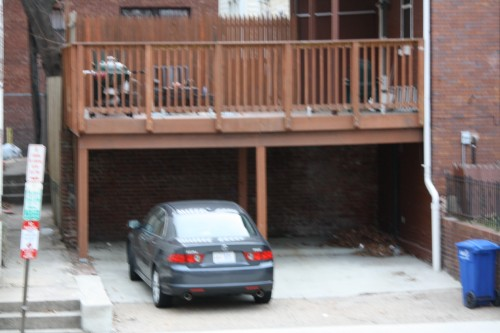 Dear pop contractor with dc permitting office experience for Carport deck