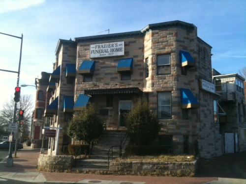 Fraziers Funeral Home For Sale In Ledroit Park