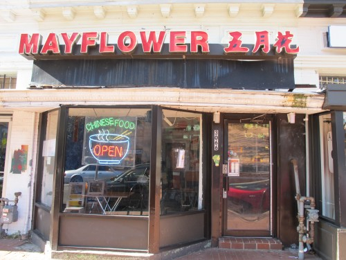 The Mayflower Chinese Take Out