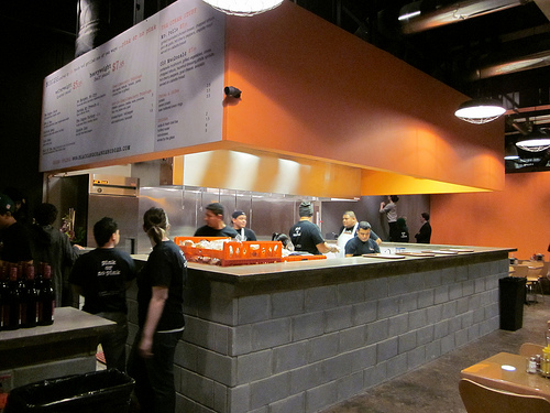 Black And Orange Burgers Opens Up At 14th And U St Nw