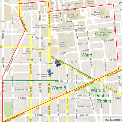 Dc Parking Map on