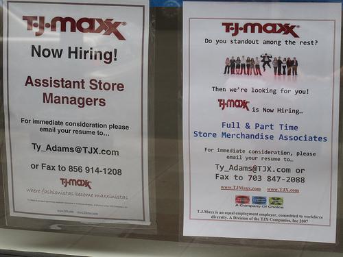 PoPville » TJ Maxx Now Hiring for Penn Quarter Store