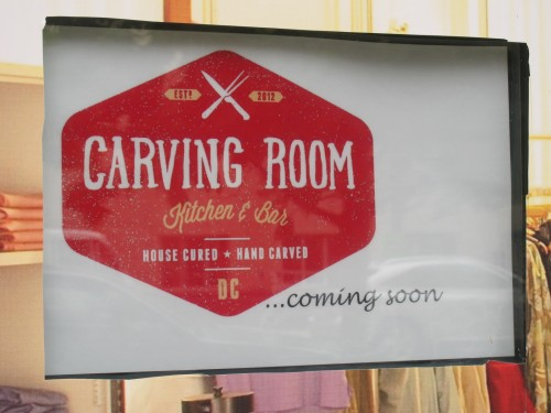 Carving Room Kitchen and Bar Still Coming to Mt. Vernon Square ...