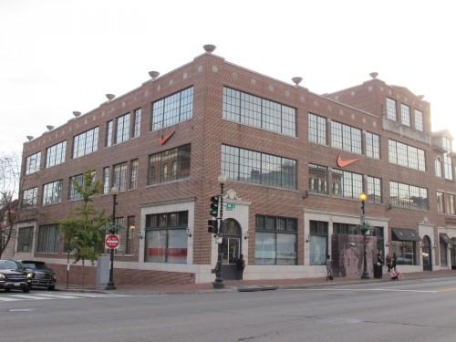 nike store washington dc m street