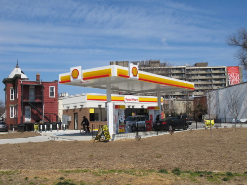 New Shell Station At 14th And Maryland Ave Ne Opens
