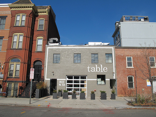Table now taking reservations in shaw popville for Table restaurant dc