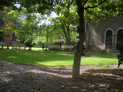 Heurich House_courtyard