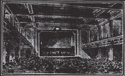Masonic Temple auditorium sketch 1905