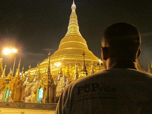 PoP in Yangon, Myanmar--Shwedagon Pagoda
