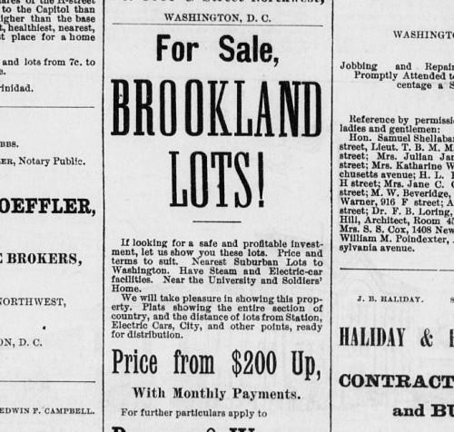 brookland_lots_1890_history
