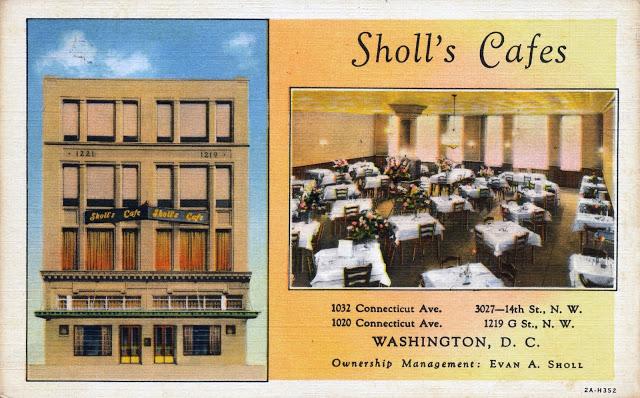 Sholl's Cafes (1932)