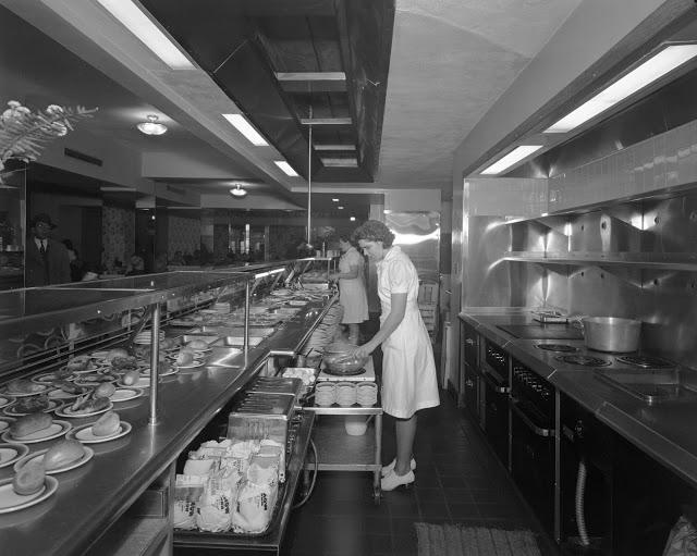 Sholl's Georgian Cafeteria at 3027 14th St NW Dec 3 1946 5a42320u