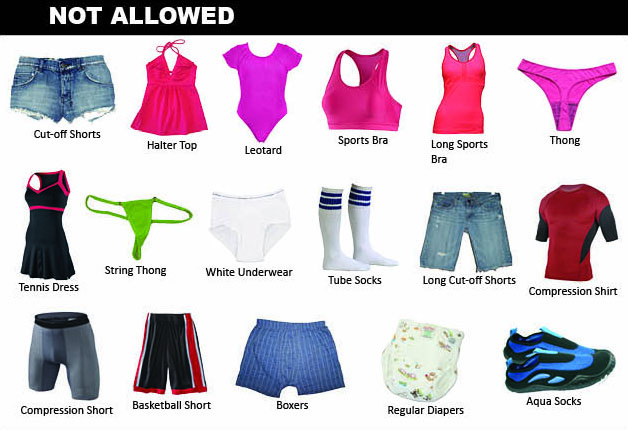 Dpr Posts Official List Of Proper Swim Attire For Dc Pools