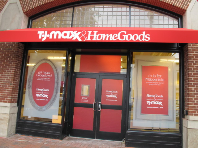 IMG 4178. TJ Maxx   HomeGoods Store Grand Opening in Georgetown September