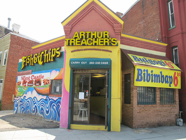 Arthur treacher becomes 39 lunch yaki 39 serving japanese and for Arthur treachers fish and chips