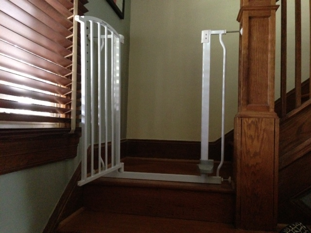 Any Experience With Baby Gates For Top Of Stair For Old Row Home?