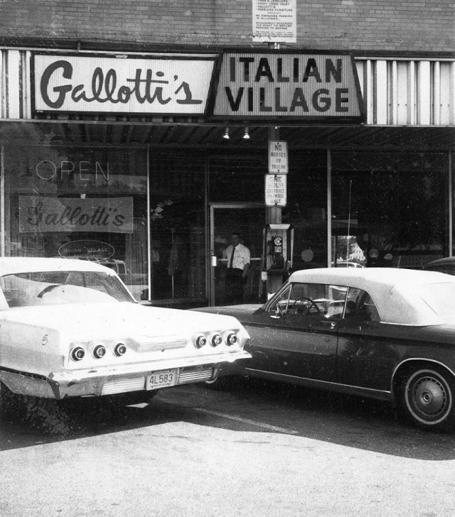 Gallotti's Italian Village, 10-12-64