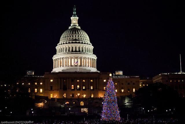 Capitol Christmas Tree Lighting Tonight At 5pm