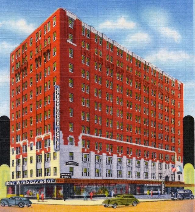 Ambassador Hotel (1936) detail
