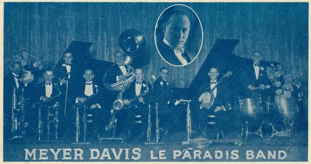 Meyer Davis Le Paradis Band