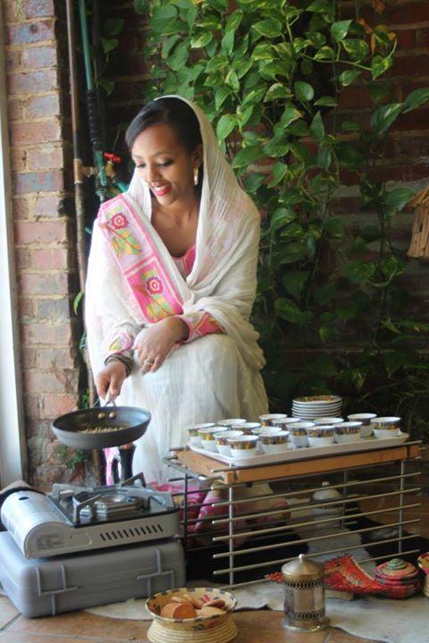 Harrar Coffee Hosts Ethiopian Coffee Ceremony Every