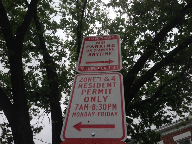resident_only_parking_Dc