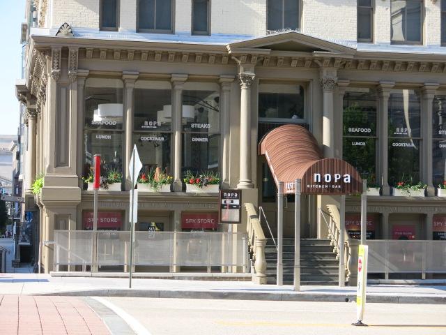 Judging Restaurant – nopa Kitchen Bar