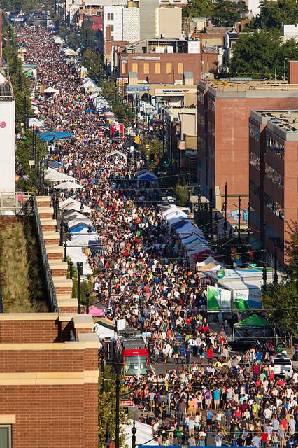 Holy H Street Festival Reader Reports 125 000 Attended Check Out The Photo Popville