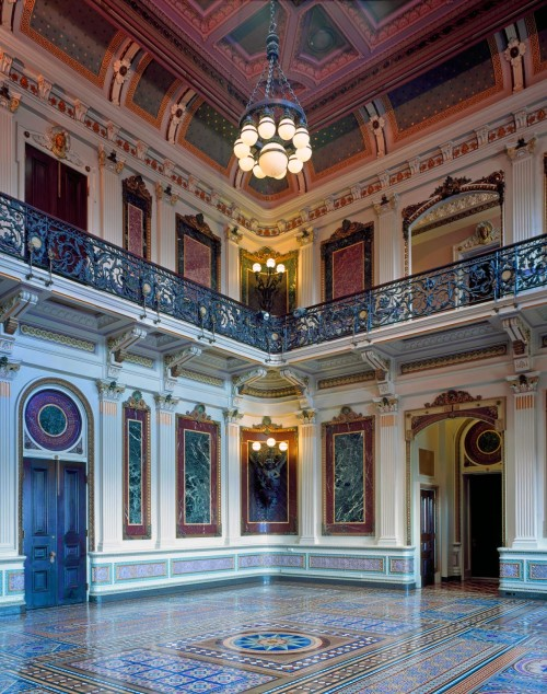 Indian Treaty Room in the Old Executive Office Building 13076u