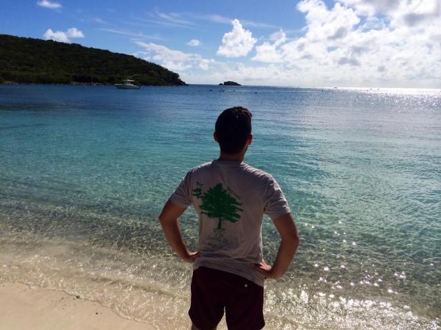 St. John, U.S. Virgin Islands Salt Pond Bay Beach