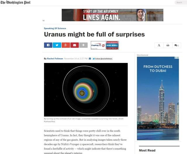 WaPo - Uranus