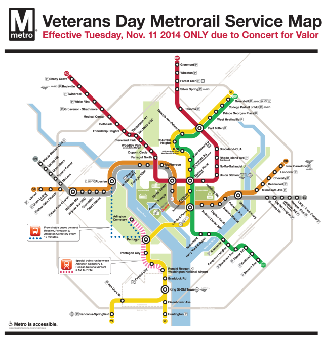 The Concert For Valor Info (Metro, Road Closures ...