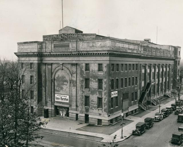 Washington Auditorium 1933