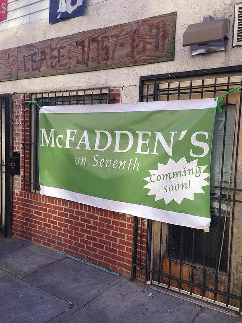 mcfaddens on 7th