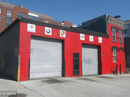 American Auto Sales Of Skyland: The Bright Red Auto Repair Shop Next To American Ice Is