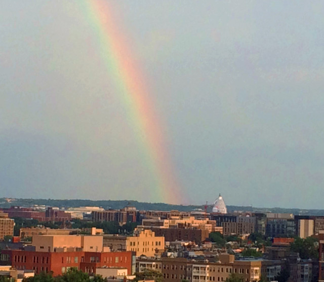 Rainbow at the Capitol
