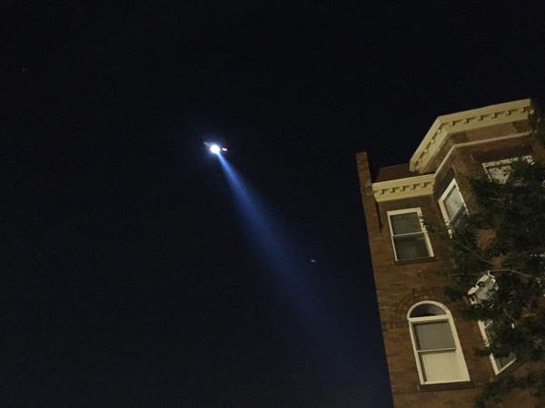 copter spot light