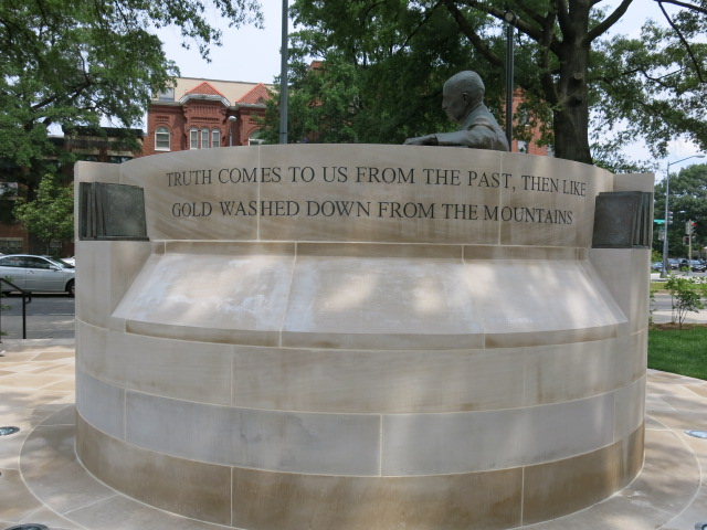 Statue Of Carter G Woodson On Rhode Island Ave Nw
