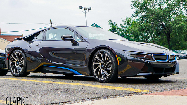 Sweet City Ride - BMW i8 (2015) MSRP $136,500