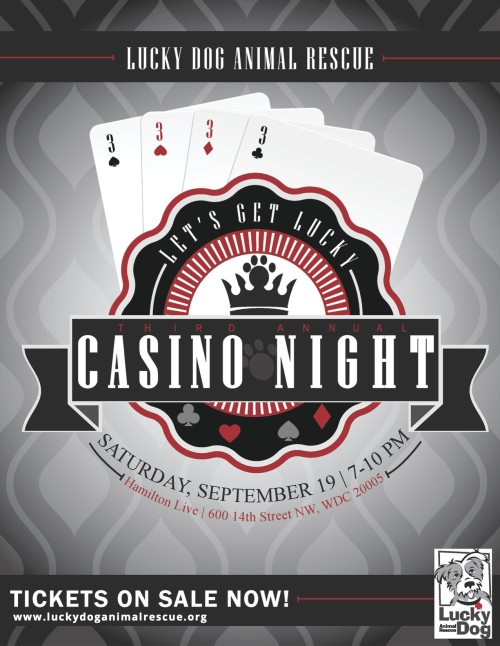 Casino Night 2015 Flyer