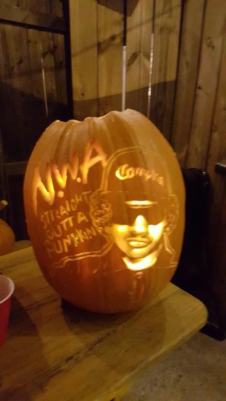 Behold dc reynold s pumpkin carving champion popville