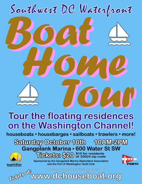 Boat Home Tour Poster 2015