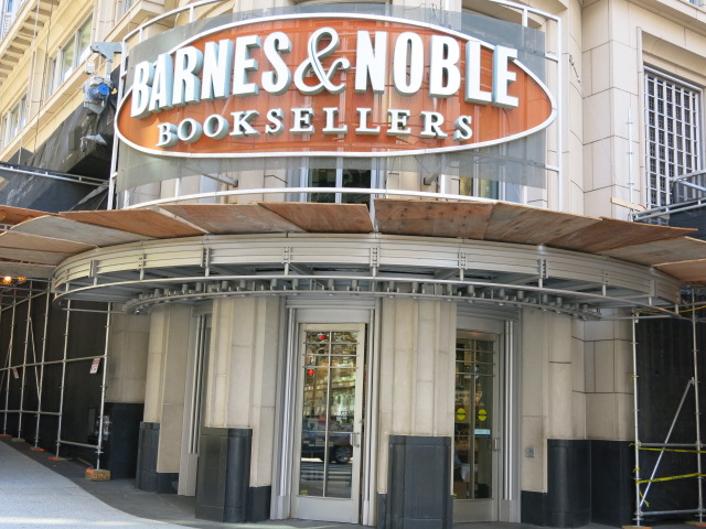 PoPville » Barnes & Noble Closing At 12th And E St, NW In
