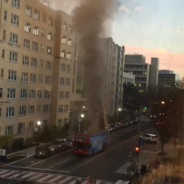 blazing bus