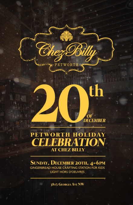 Chez-Billy-Xmas-poster
