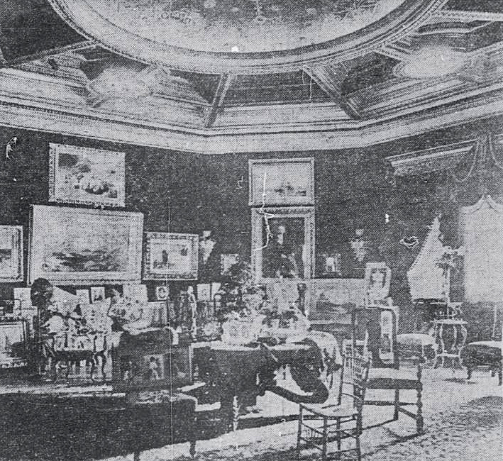 Boundary Castle Dining Hall (Wash Times 1904)