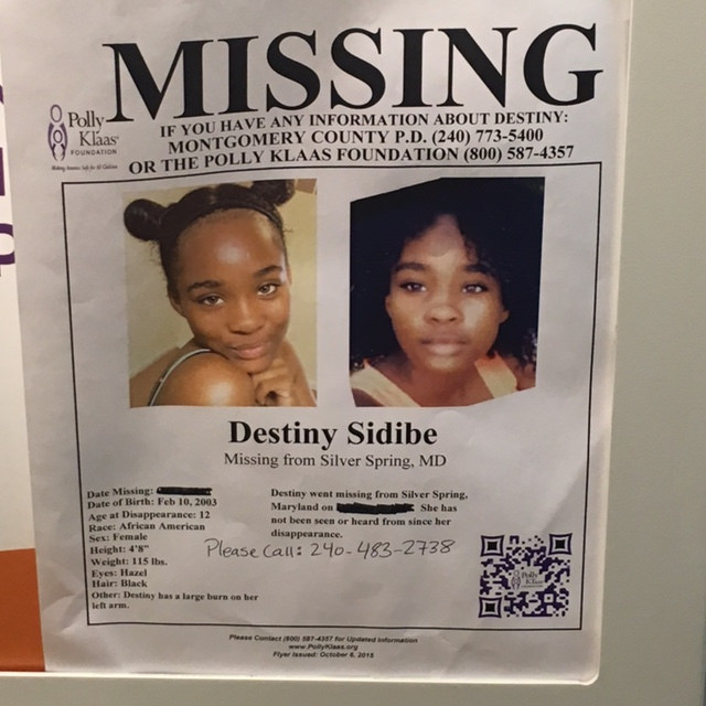 girl missing ss