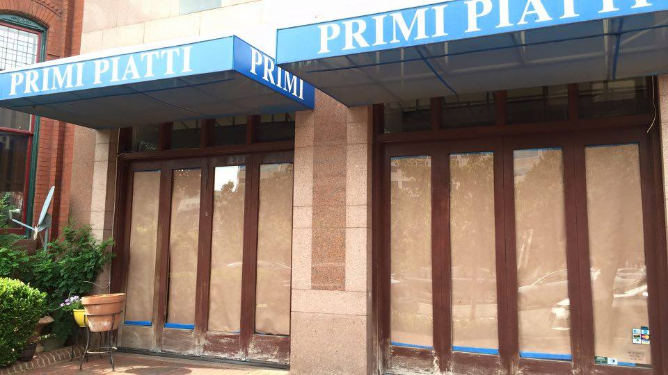 primi piatti closed